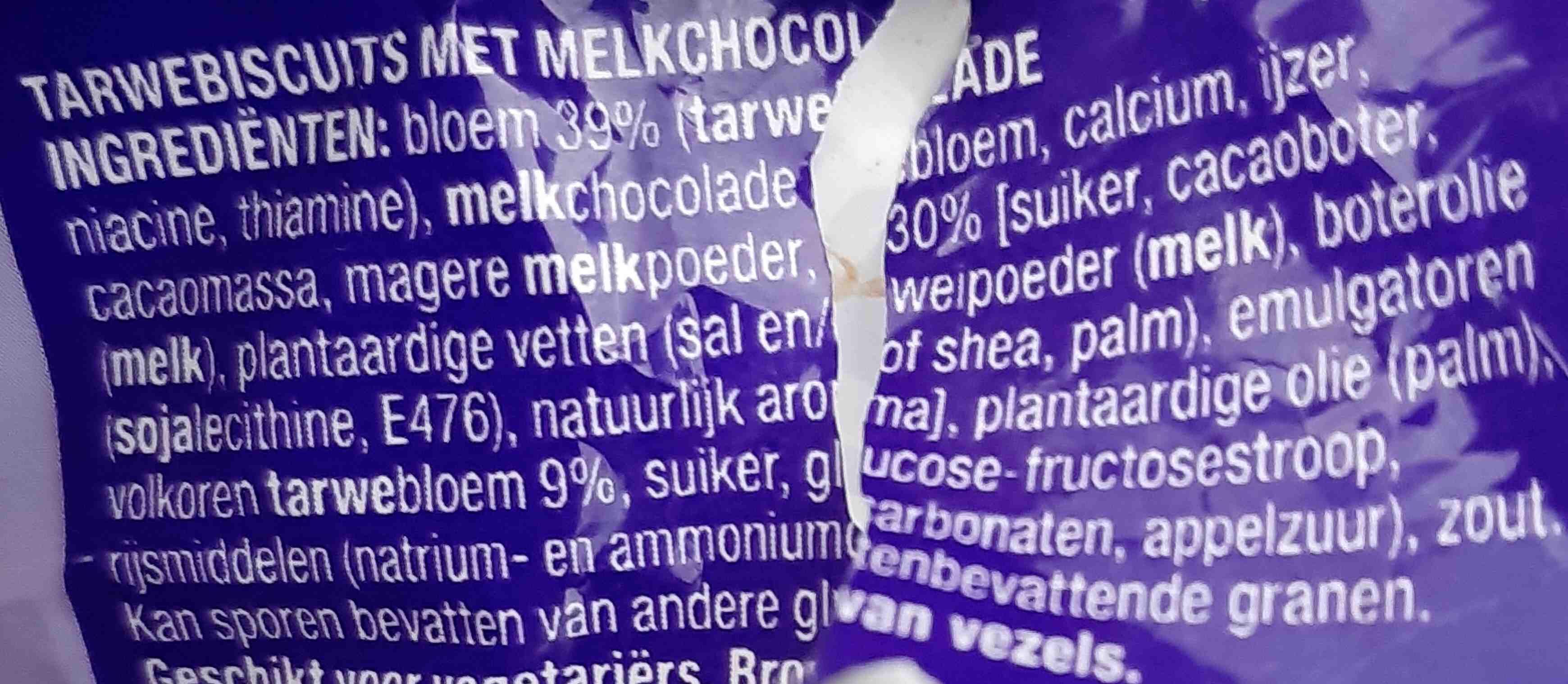 McVitie's Digestive Melk Chocolade - Ingrediënten - nl