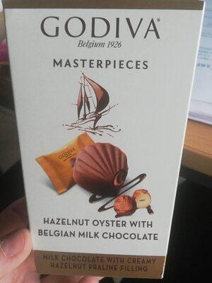 Godiva hazelnut oyster with Belgian milk chocolate - Product
