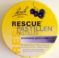 Rescue Pastillen Schwarze Johannisbeere Cassis - Produkt