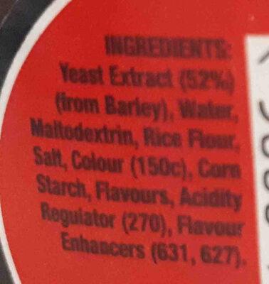 Bovril 125g - Ingredients - en
