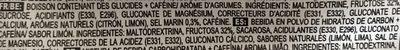 High 5 Energy Source Xtreme Citrus Sachet - Ingredients - fr