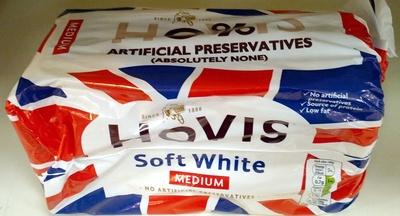 Hovis Soft White Medium Bread 800G - Product - en