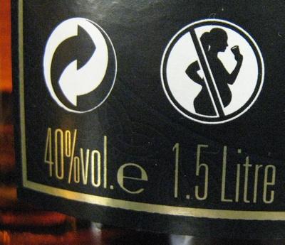 Whisky Ecosse blended sans âge 150 cl Long John - Valori nutrizionali - fr