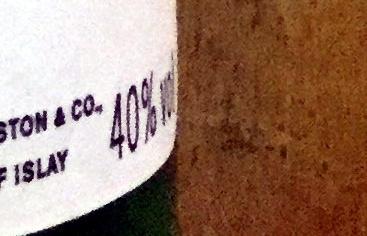 Single Islay Malt Scotch Whisky - Información nutricional