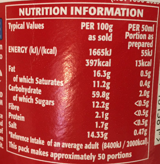 Lilly Potatoes - Nutrition facts - en