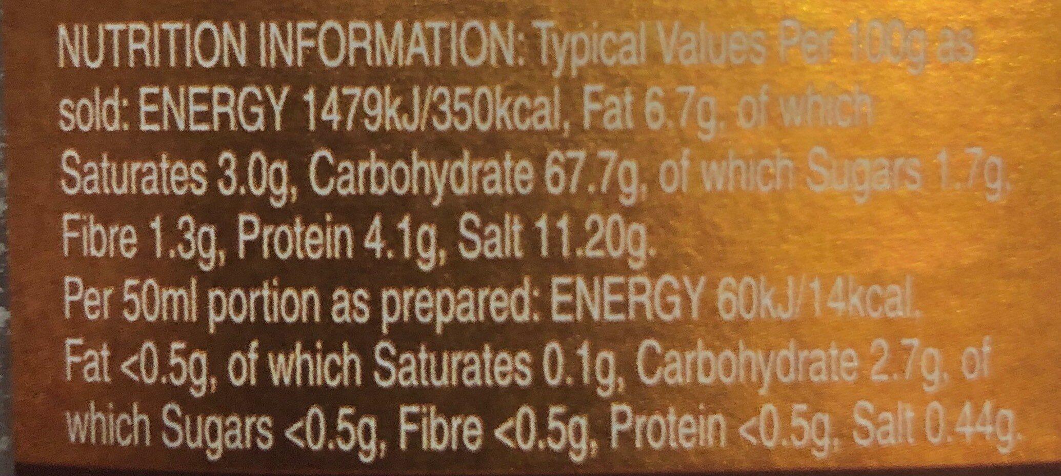 Best Chicken Gravy - Nutrition facts - en