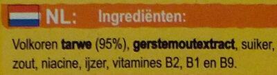 Weetabix Original 95% Blé Complet - Ingrediënten - nl