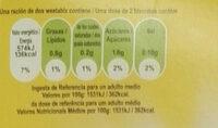 Original Weetabix - Información nutricional - es