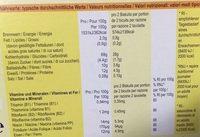 Weetabix - Informations nutritionnelles - fr