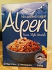 Alpen No Added sugar - Produit