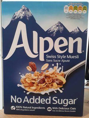 Alpen - No Added Sugar - Producto - fr