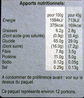 Alpen Swiss Style Muesli ohne Zuckerzusatz - Voedingswaarden
