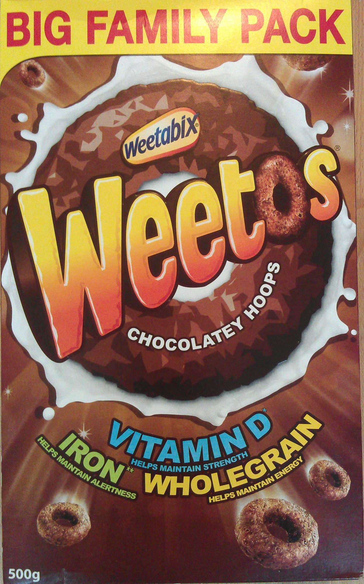 Weetos Chocolatey Hoops - Product