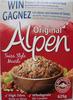 Alpen Original Swiss Style Muesli - Produit