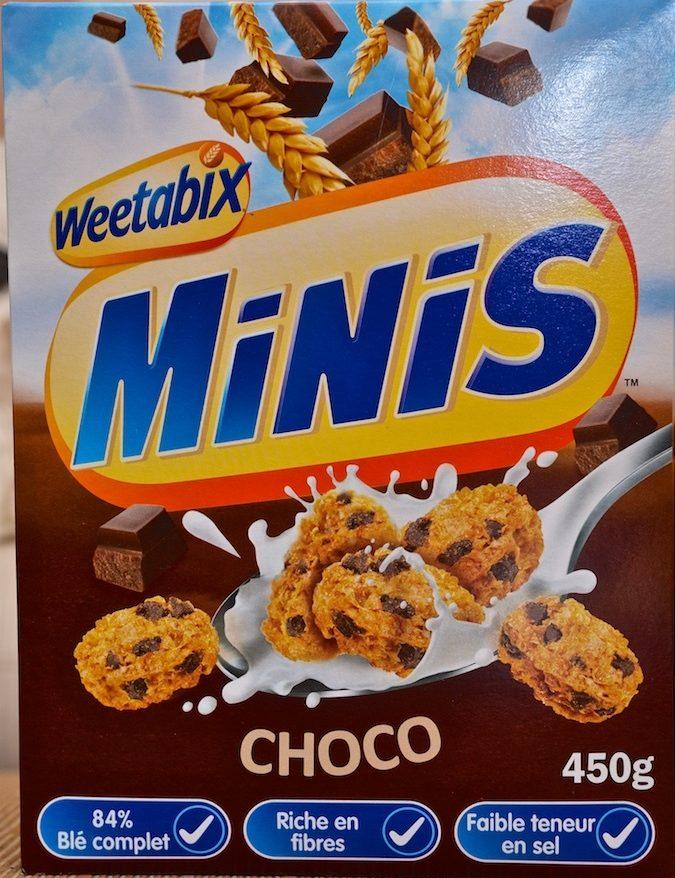 Minis - Céréales de blé complet choco - Product - fr