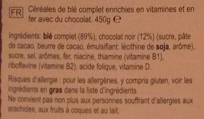 Weetabix crispy minis - Ingredients - fr