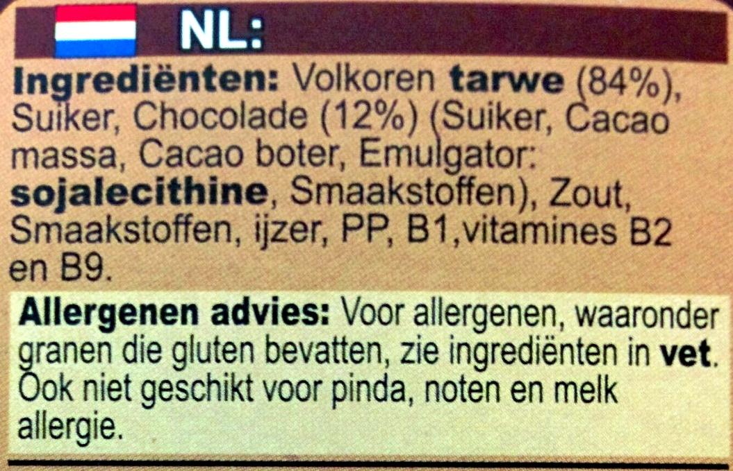 Weetabix crispy minis - Ingrediënten - nl