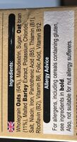 Oatibix Avena Flakes - Ingredients - es