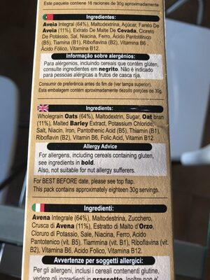 Oatibix Avena Flakes - Ingrédients - fr