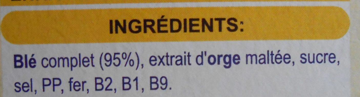 Blé complet original - Ingredients - fr