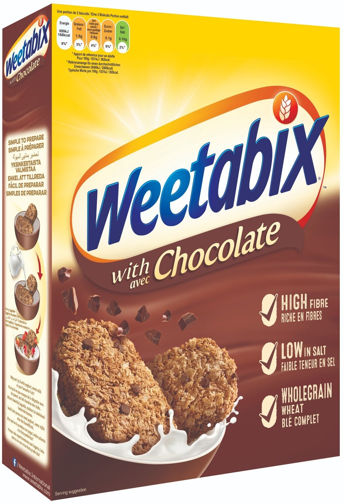 Weetabix chocolate - Producte