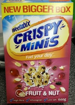 Crispy Minis Fruit & Nut - Produit - en