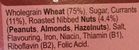 Crispy Minis Fruit & Nut - Ingredients