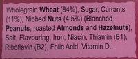 Crispy Minis Fruit & Nut - Ingredienti - en