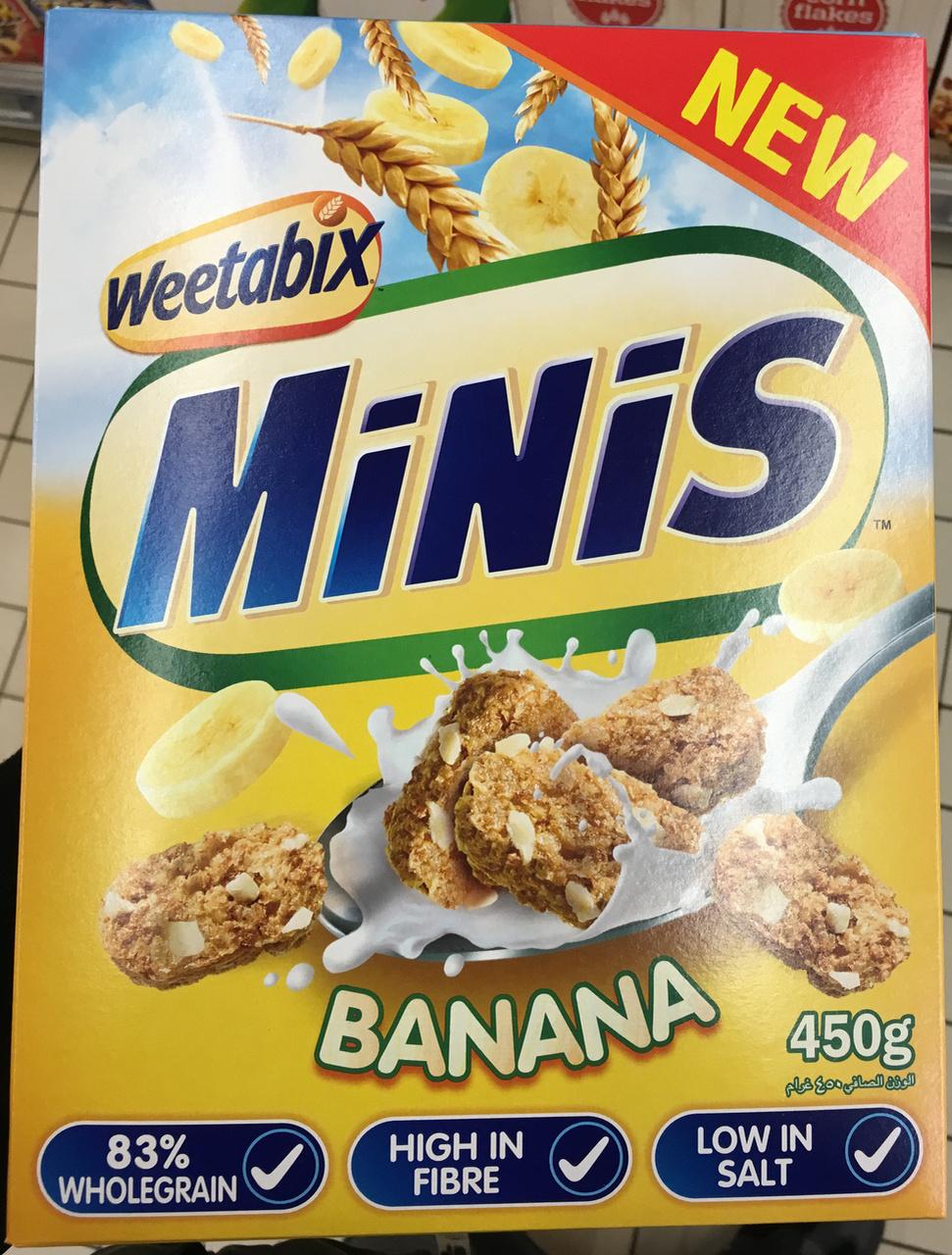 Minis Banana - Produit