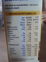 Weetabix - Nutrition facts