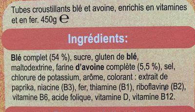 Weetabix Protein - Ingredients