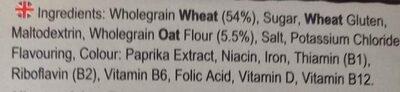 Weetabix Protein Crunch Original - Ingredientes