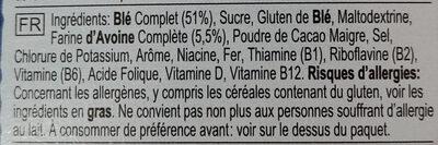 PROTEIN Crunch - Ingrediënten - fr