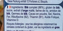 Weetabix Protein - Ingrédients