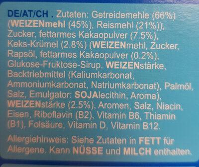 Oreo O's - Ingredients - de
