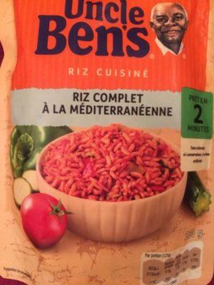 Riz complet à la méditerranéenne, 250g - Product - fr