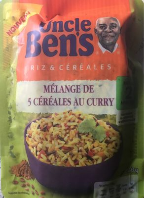 Melange de 5 cereales au curry - Product - fr