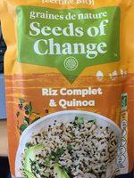 Riz complet & Quinoa - Product - fr