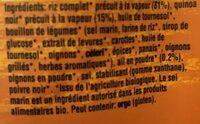Riz complet & Quinoa - Ingrediënten - fr