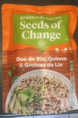Duo de Riz, Quinoa & Graines de Lin - Produit