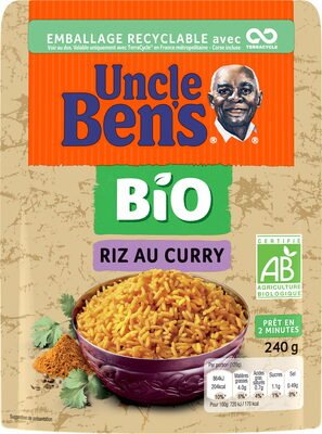 Riz au Curry BIO - Product