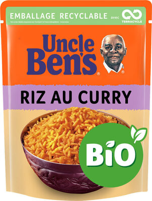 Riz Curry BIO Uncle Ben's 240 g - Product - fr