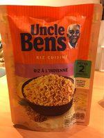 Pilau rice (uncle bens) - Produit - fr