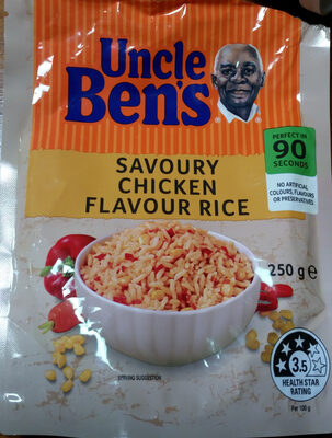 Uncle Bens Express Savoury Chicken Rice - Product - en