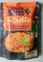 Uncle Ben's Exrpess Risotto à La Tomate Et Aux Herbes - Product