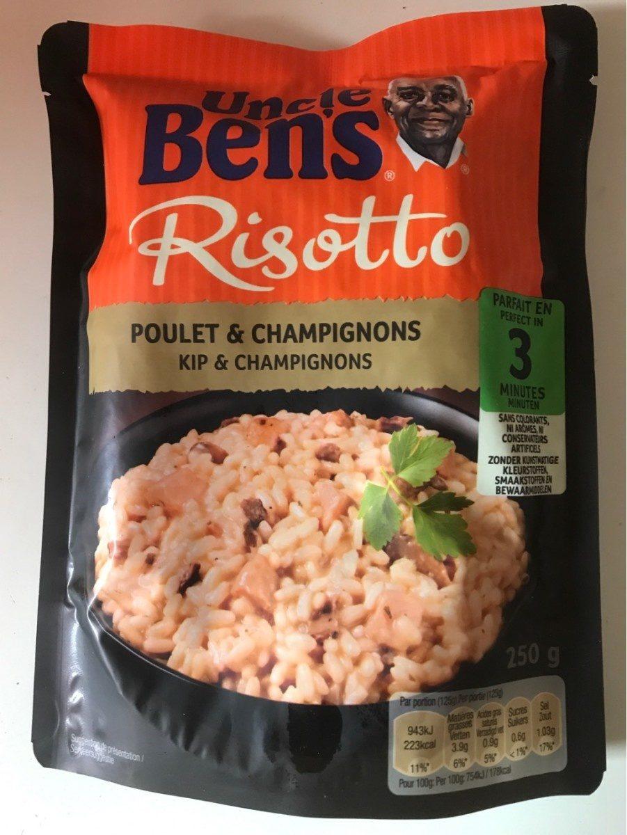 Risotto poulet champignons Uncle Ben's 250 g - Product - fr