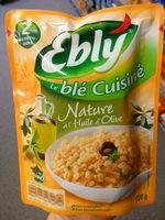 Le Blé Cuisiné Nature à l'Huile d'Olive - Prodotto - fr