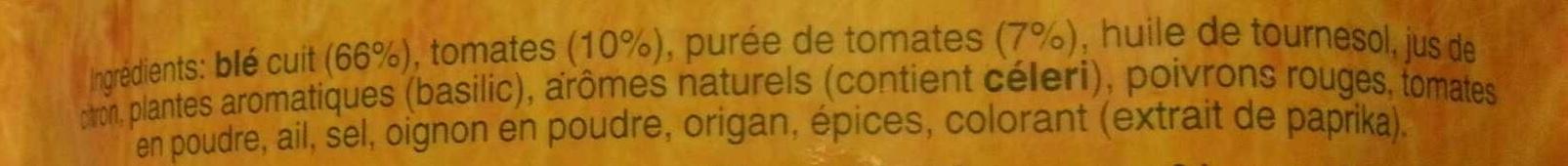 Blé express à la tomate et au basilic - Ingrédients