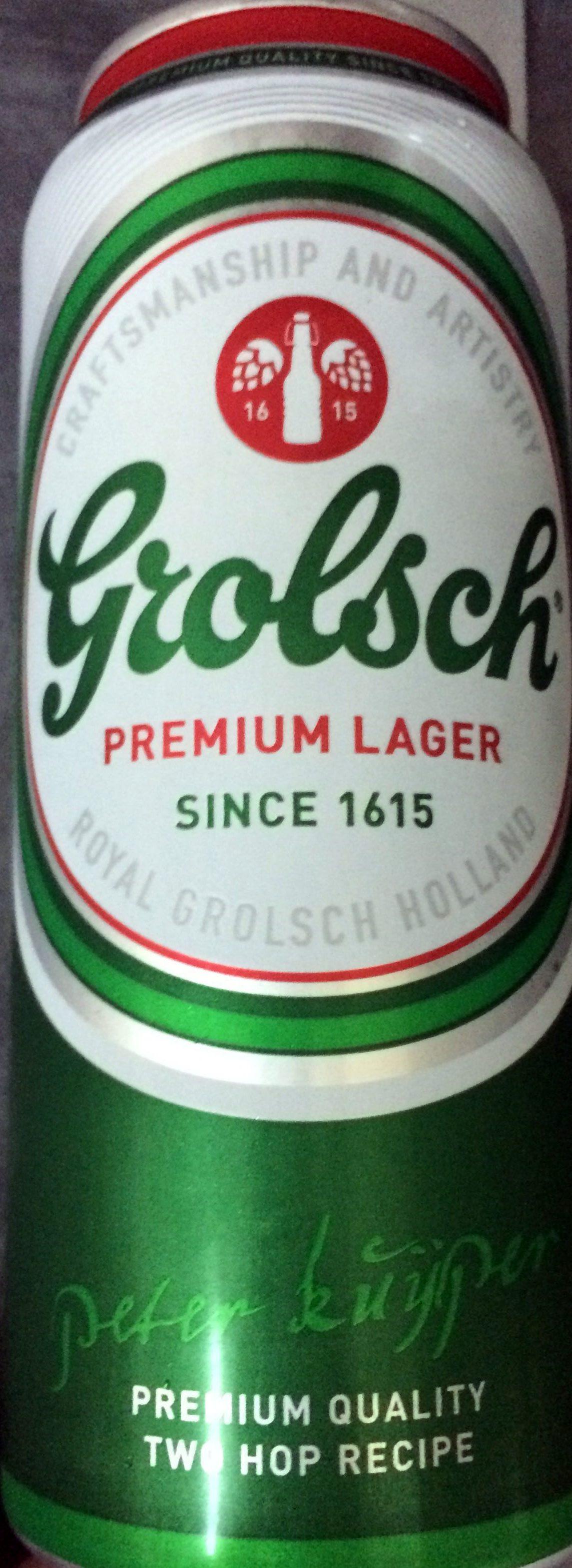Grolsch premium lager - Product - en
