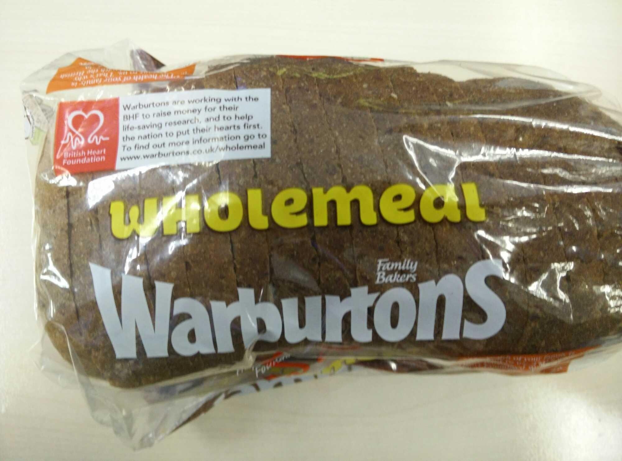 Wholemeal Medium Sliced - Producto